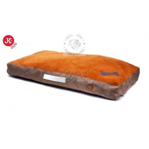 JK bársonyos párna fekhely, levehető huzattal  110x68x15 cm