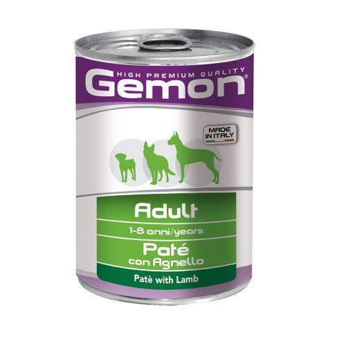 GEMON Dog  Paté  with lamb - bárányos pástétom 80% hústartalom 400 gr.