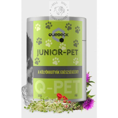 QUEBECK Junior-PET egészségmegőrző kölyökkutyáknak 300 gr