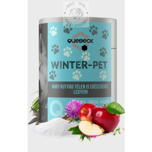 QUEBECK Winter-Pet téli vitamin, energetizáló 300 gr.