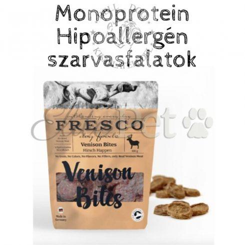 Fresco Venison Bites Hipoallergén Jutalomfalat (Szarvas) 100g