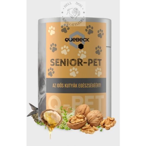 QUEBECK Senior-Pet immunerősítő 300 gr
