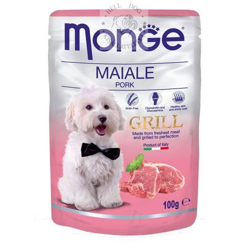 MONGE Grain Free GRILL Sertéshússal MSM-mel és glükomazinnal