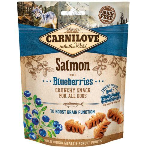Carnilove Dog Crunchy Snack lazachússal és áfonyával