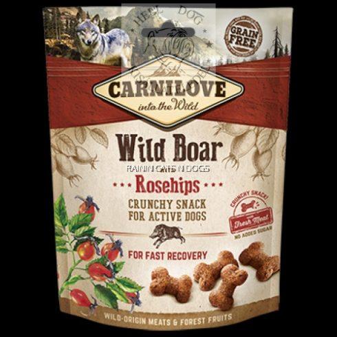 Carnilove Dog Crunchy Snack Vaddisznó hússal és csipkebogyóval