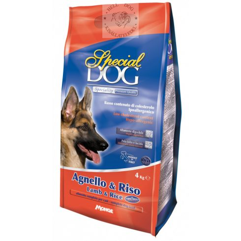 Special Dog hypoallergén bárány-rizs 15 kg