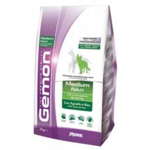 GEMON medium adult Lamb & rice Bárány-rizs 25/13  20 kg